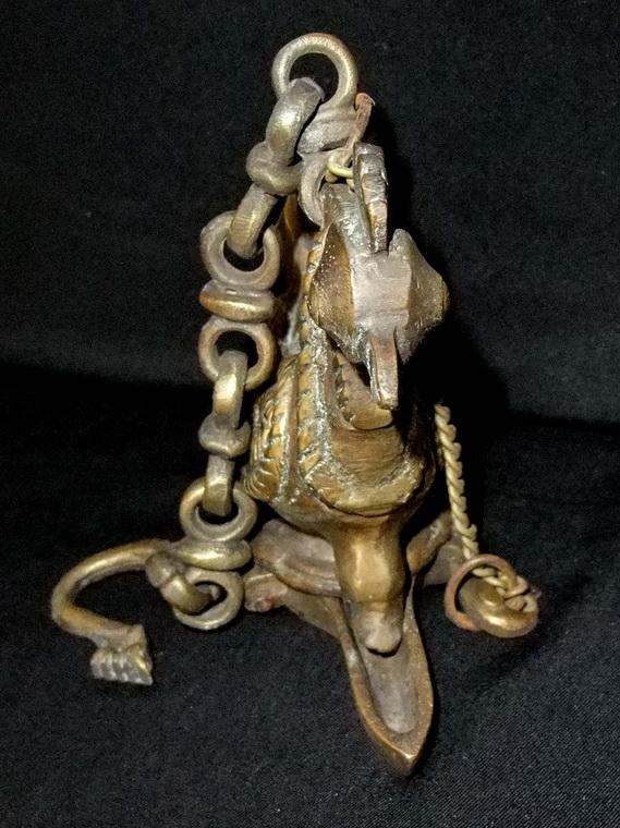 Lampe A Huile Coq Decoration Indienne