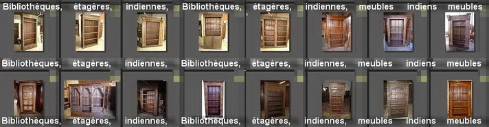 BIBLIOTHEQUES & ETAGERES