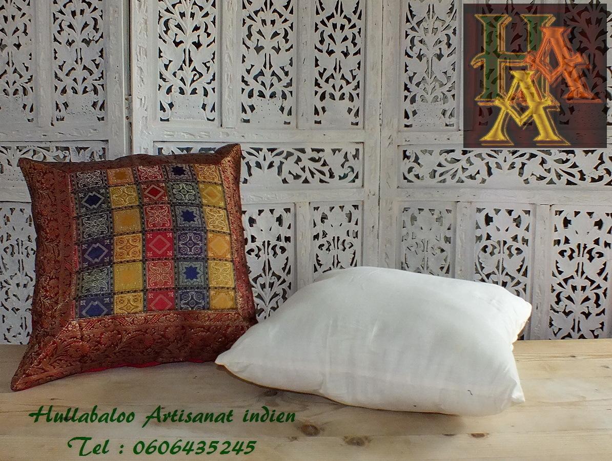 rembourrage pour housse de coussin d coration indiennes. Black Bedroom Furniture Sets. Home Design Ideas