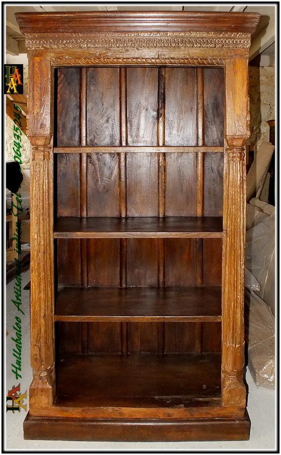 Biblioth 232 Que Etag 232 Re Ancienne Indienne Jn4 La26 Meubles