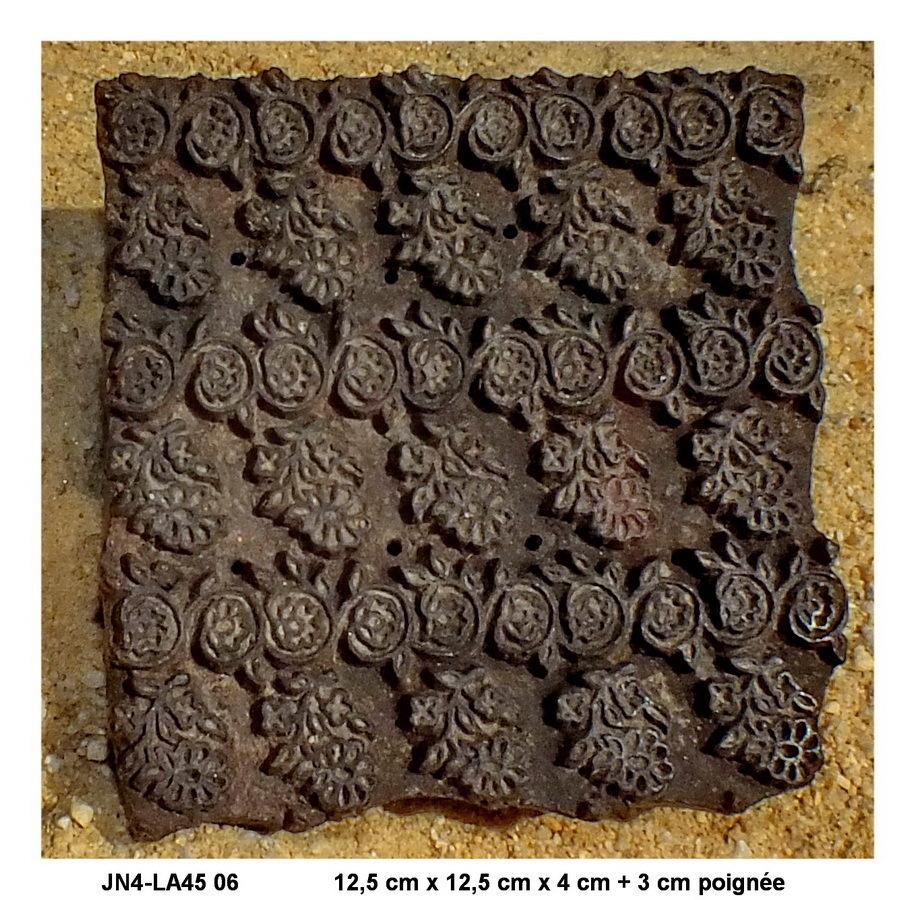 tampon indien imprimerie jn4 la45 06 d coration indienne. Black Bedroom Furniture Sets. Home Design Ideas