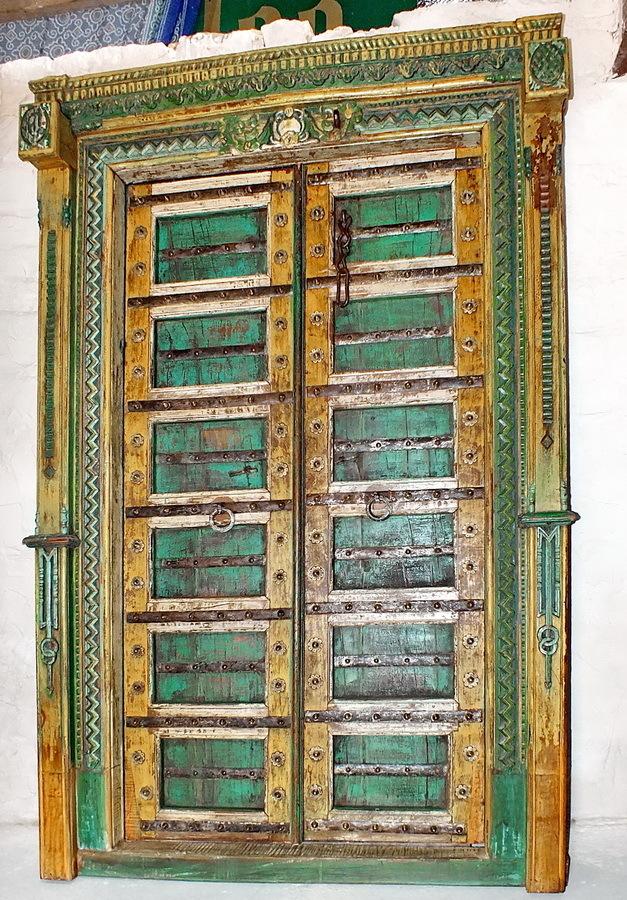 Porte ancienne indienne l 39 artisanat et l 39 industrie for Architecture indienne
