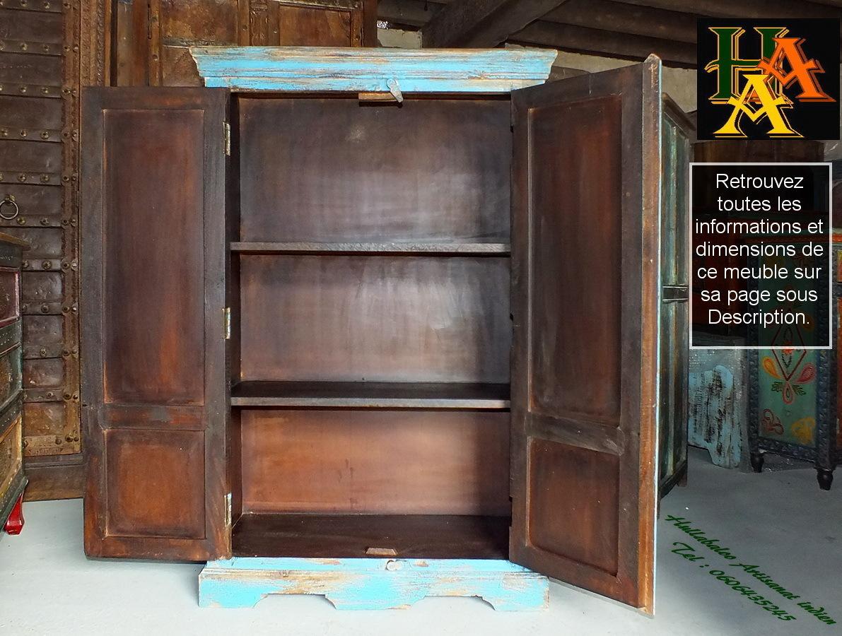 armoirette indienne jn7 la075 meubles indiens d coration inde. Black Bedroom Furniture Sets. Home Design Ideas