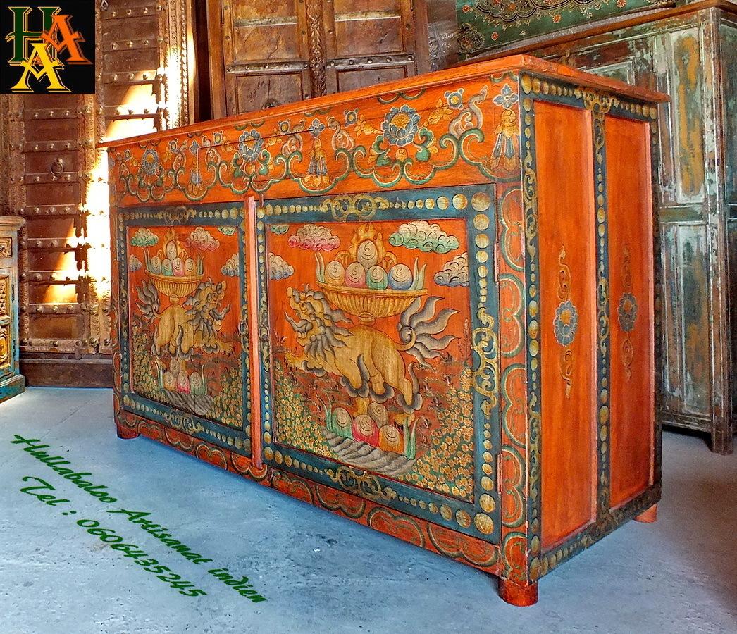 D co meubles indiens peints paris 3737 meubles salle de bain bois meubles design toulouse - Meubles asiatiques bordeaux ...
