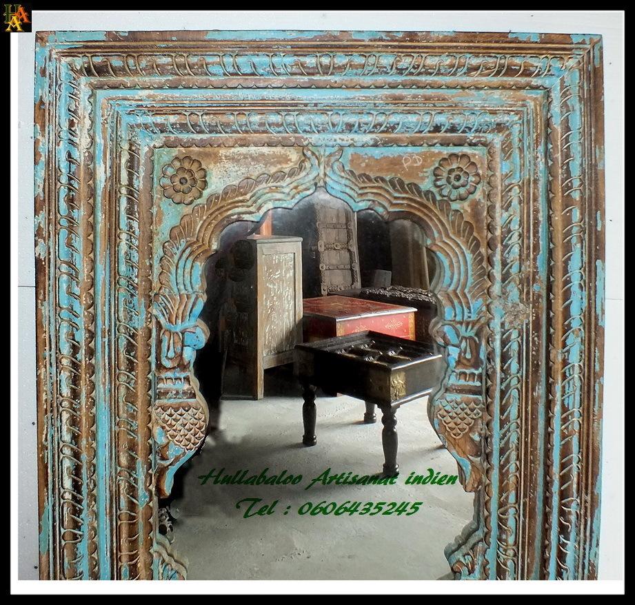 arche indienne avec miroir jn7 la673 meubles indiens d coration. Black Bedroom Furniture Sets. Home Design Ideas