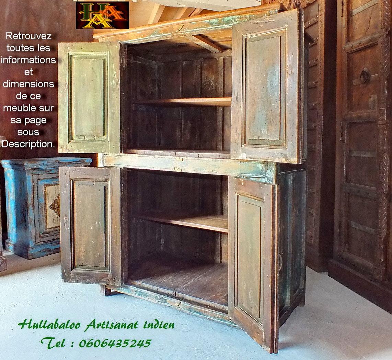 Placard ancien bhandara portes jnla with meuble garde for Meuble garde manger