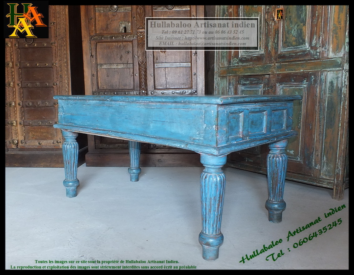 table basse indienne jn7 la683a meubles indiens d coration inde. Black Bedroom Furniture Sets. Home Design Ideas