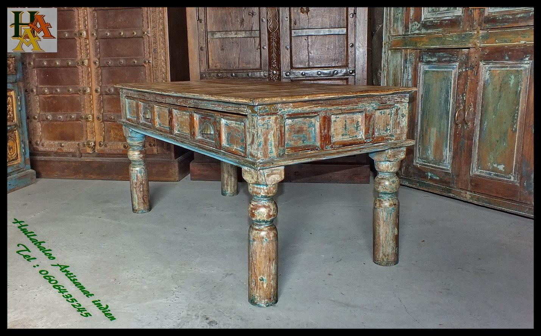 table basse indienne jn7 la683b meubles indiens table de salon. Black Bedroom Furniture Sets. Home Design Ideas