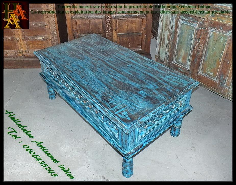 table basse indienne jn7 la684 meubles indiens table de salon. Black Bedroom Furniture Sets. Home Design Ideas