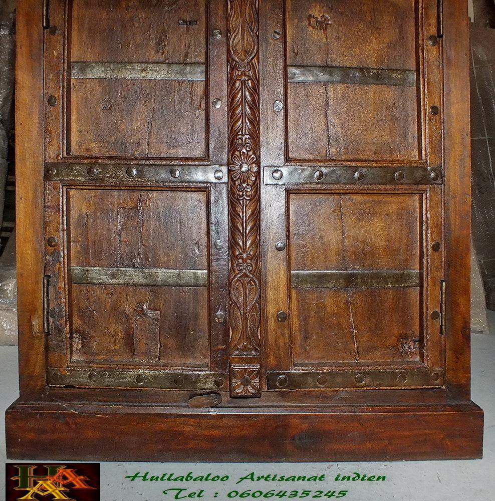 armoire vieilles portes jn7 la704 meubles indiens porte. Black Bedroom Furniture Sets. Home Design Ideas