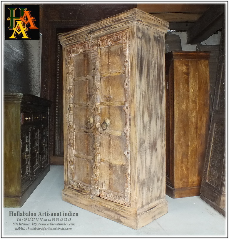 armoire indienne vieilles portes jn8 la010 meubles indiens. Black Bedroom Furniture Sets. Home Design Ideas