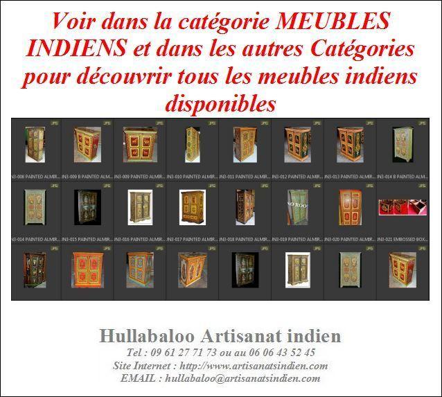Armoire Ancienne Indienne Jn8 La027 Meubles Indiens Deco Inde