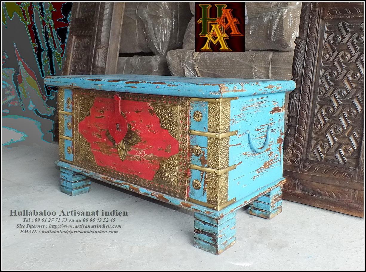 Coffre indien jn8 ca22 meubles indiens d coration indienne for Meuble indien