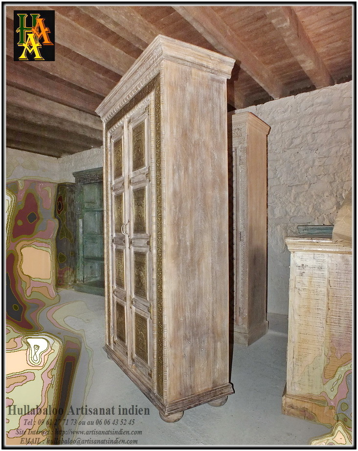 armoire indienne jn8 ca26 meubles indiens d coration indienne. Black Bedroom Furniture Sets. Home Design Ideas