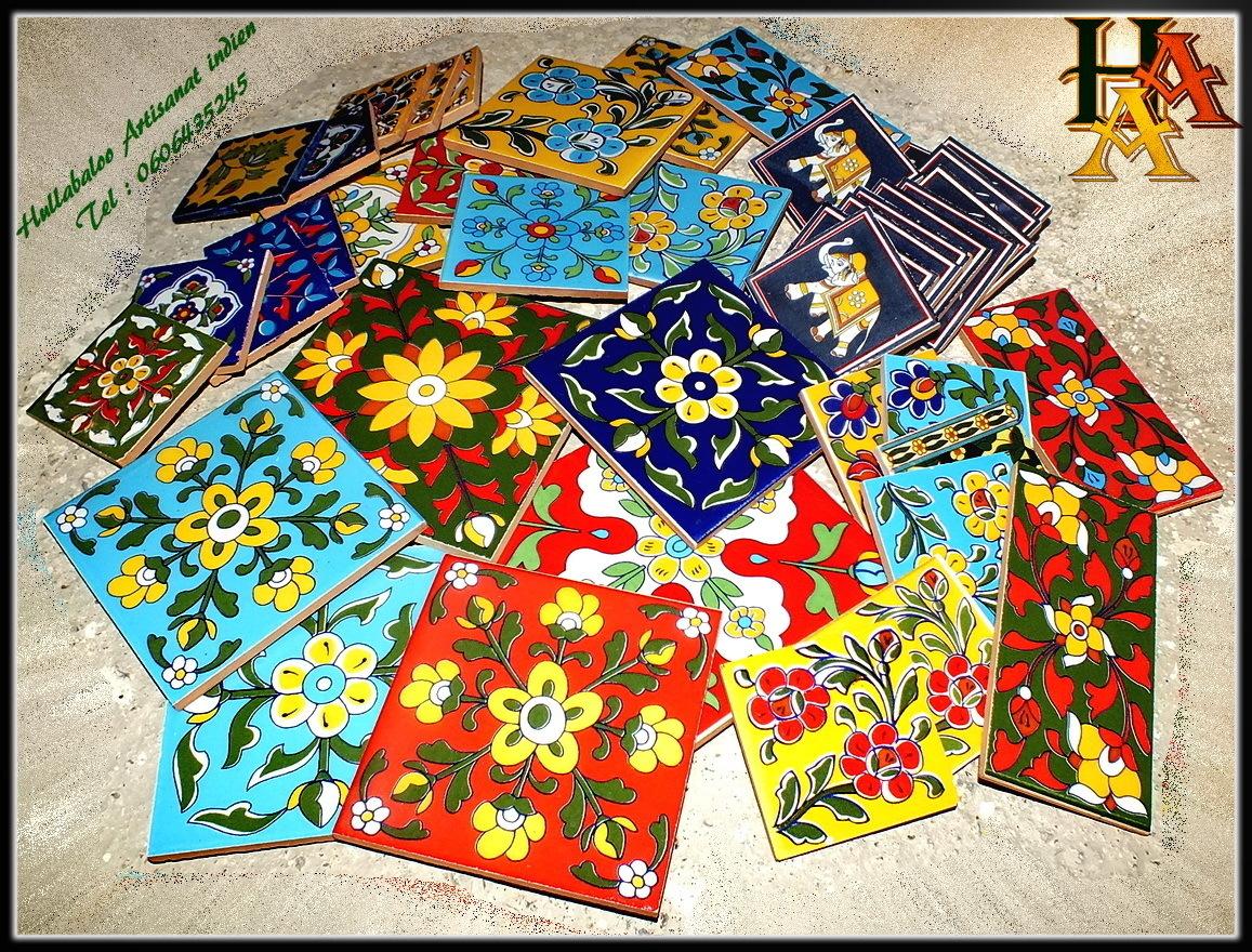 Carrelage carreaux mosaiques indiens d coration indienne for Entrepot carrelage