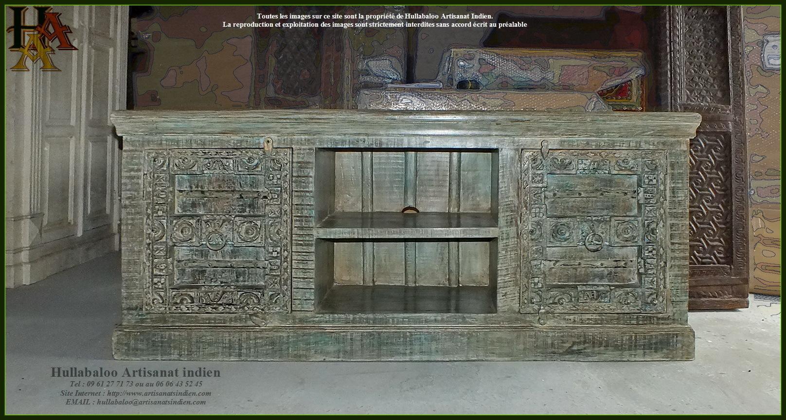 meuble bas style vieilles portes jn9 ca21 meubles indiens inde. Black Bedroom Furniture Sets. Home Design Ideas