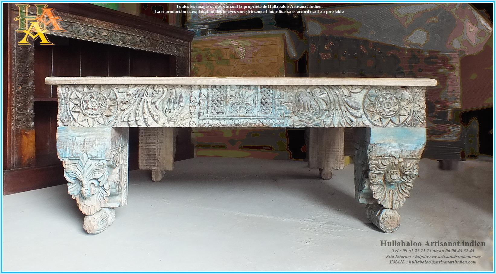 table basse de salon jn9 ca27 meubles indiens artisanat d 39 asie. Black Bedroom Furniture Sets. Home Design Ideas