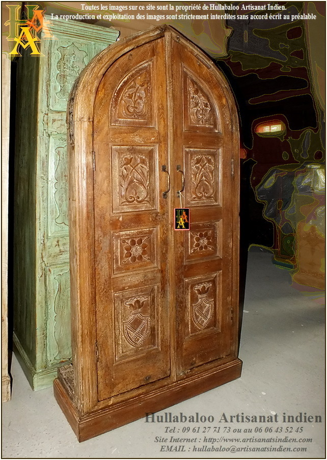 armoire indienne ancienne jn9 lajt11 meubles indiens artisanat. Black Bedroom Furniture Sets. Home Design Ideas