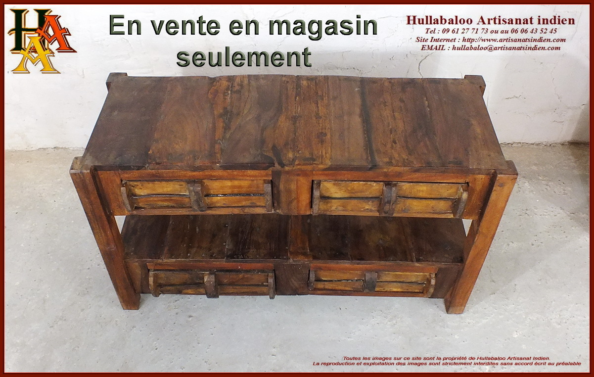 table basse meuble tv jn10 sgh19 meubles indiens artisanat. Black Bedroom Furniture Sets. Home Design Ideas
