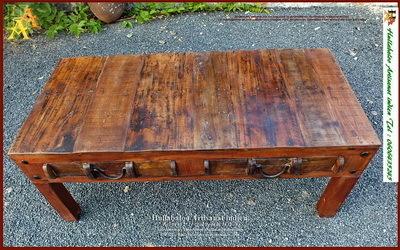 Tables Indiennes Meubles Indiens Bois Massif Peint Exotique