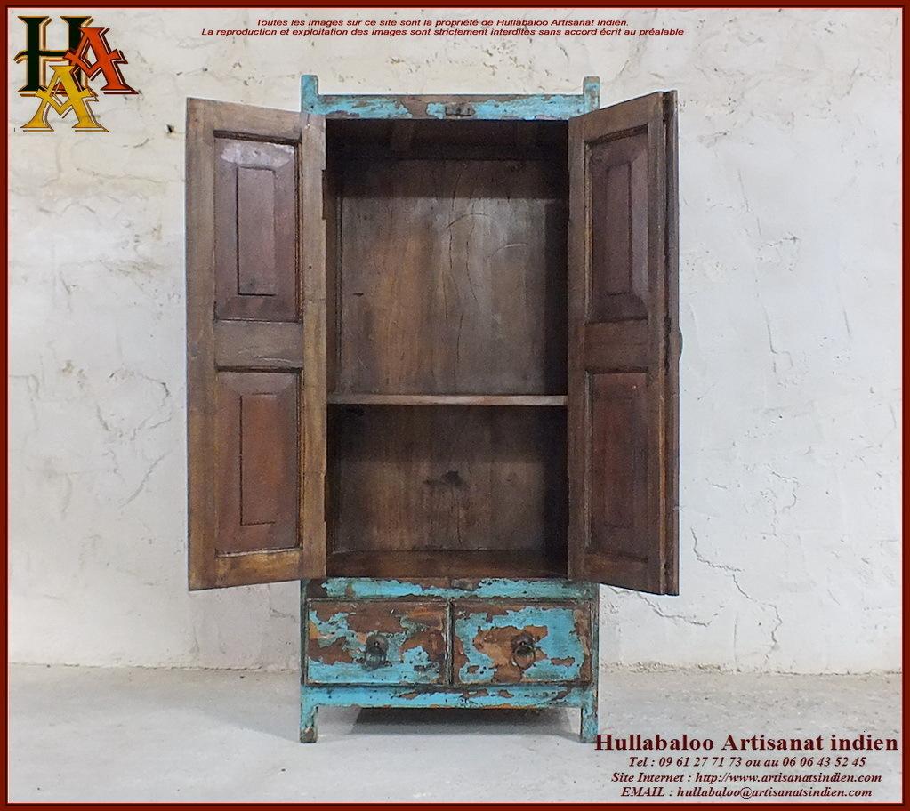 Placard indien ancien jn10 sgh33 meubles indiens for Meubles indiens anciens