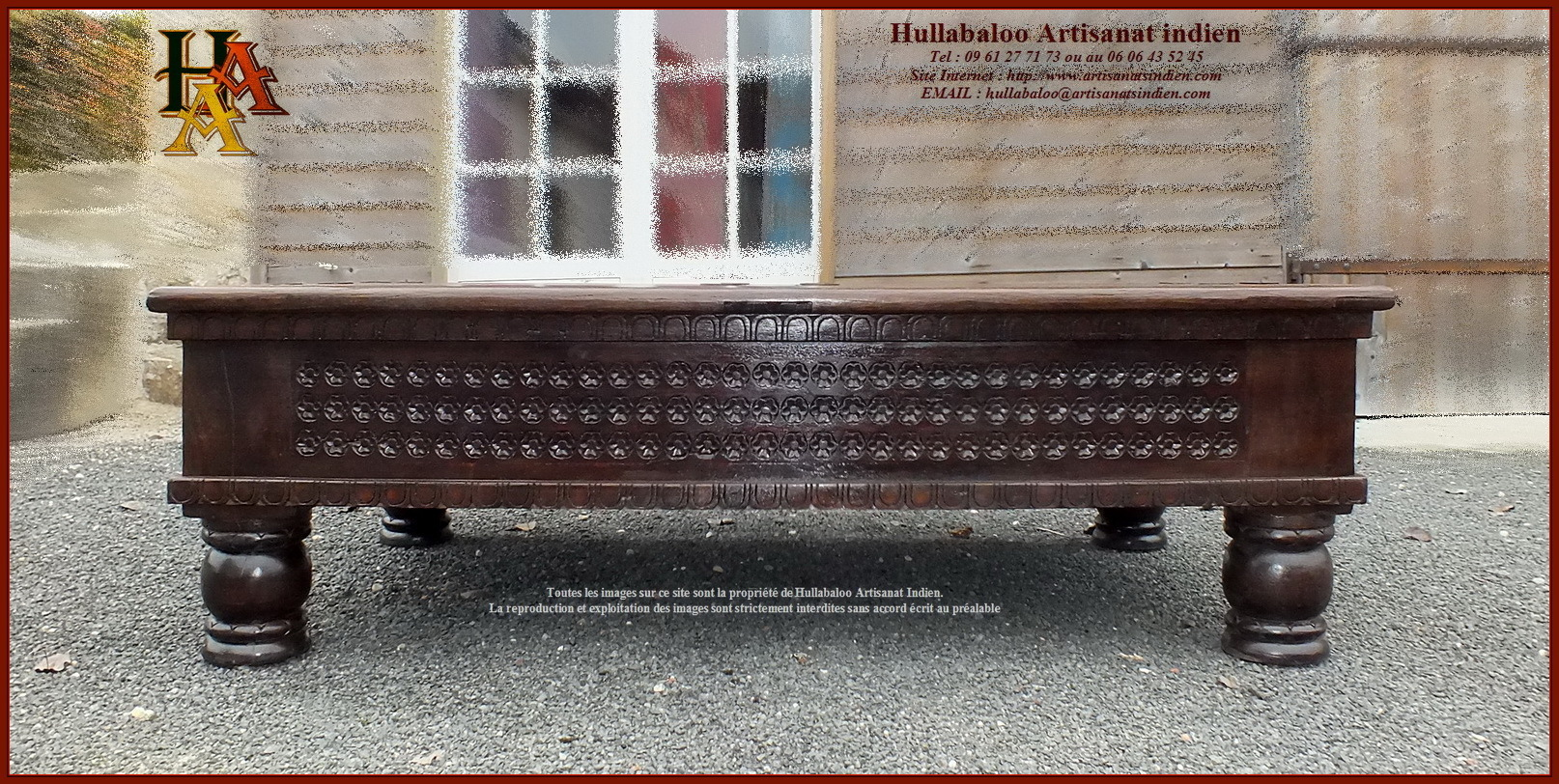 table basse de salon jn10 sgh52 meubles indiens artisanat. Black Bedroom Furniture Sets. Home Design Ideas