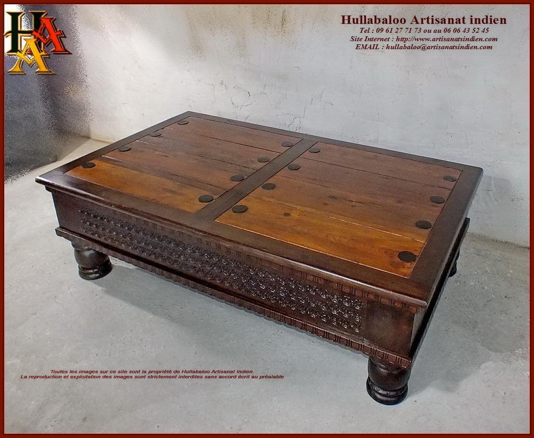 Table Basse De Salon Jn10 Sgh52 Meubles Indiens Artisanat