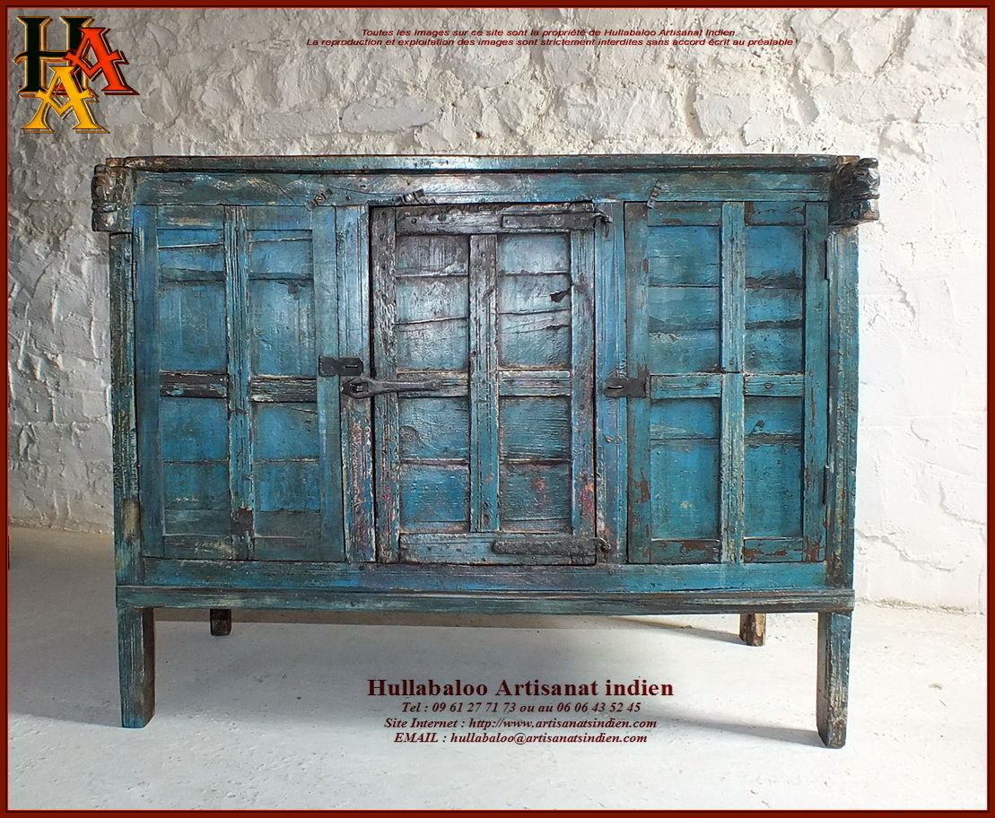 Garde manger indien damchaya jn10 sgh53 meubles indiens asie - Meuble garde manger ancien ...