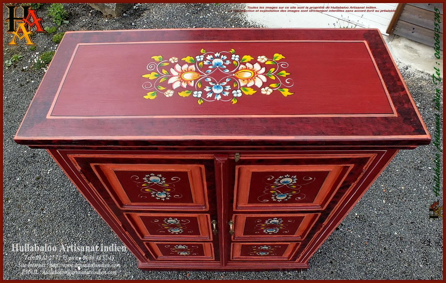 armoire peinte jn11 lilt317