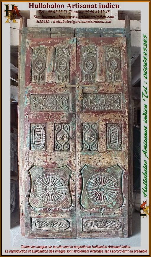porte indienne ancienne jn11 liltd57 meubles indiens portes. Black Bedroom Furniture Sets. Home Design Ideas
