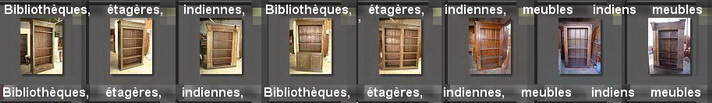 BIBLIOTHEQUES - ETAGERES