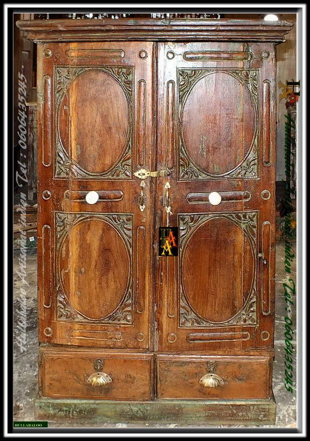 Armoire Ancienne Indienne Jn7 La666 Anciens Meubles Indiens