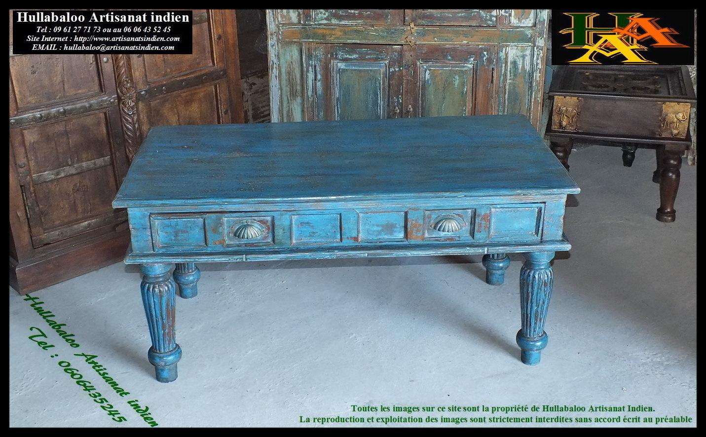 Table Basse Indienne Jn7 La683a