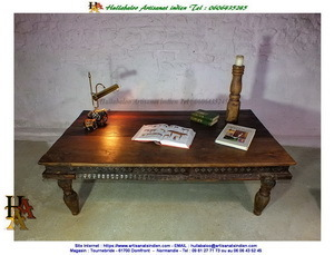 Table indienne ancienne JN10-SGH15