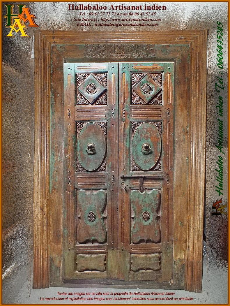 Vieille Porte En Bois Ancienne porte indienne ancienne jn11-liltd20