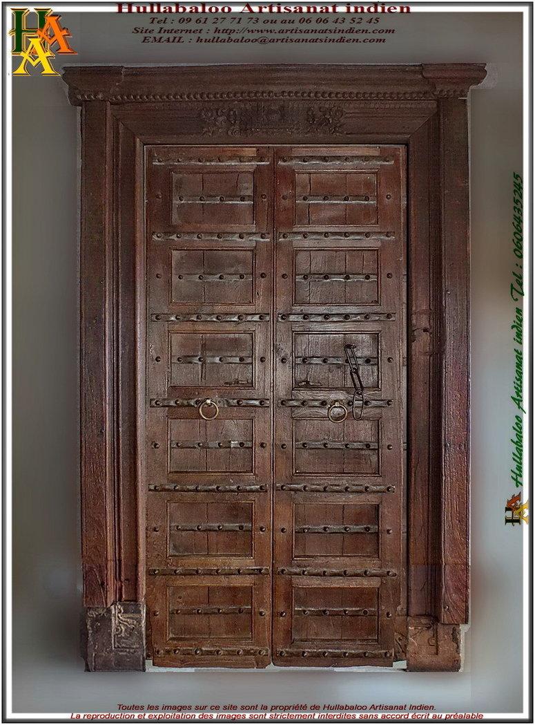 Vieille Porte En Bois Ancienne porte indienne ancienne jn11-liltd22