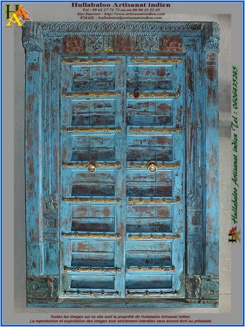 Vieille Porte En Bois Ancienne porte indienne ancienne jn11-liltd48