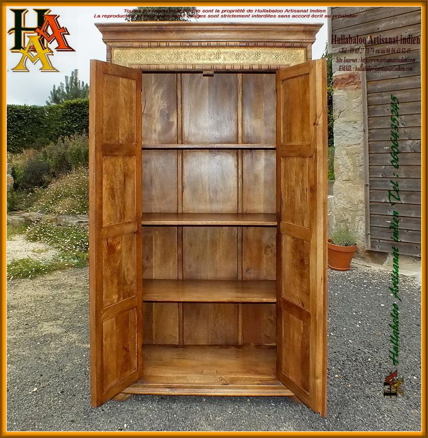 armoire bois massif d coration laiton jn11 cac38 meuble. Black Bedroom Furniture Sets. Home Design Ideas