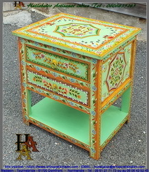Table basse peinte,JN14-RAJ-2382B